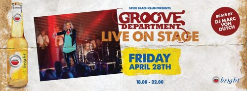 Groove Department Live @ Spice Beach @ Spice Beach Club