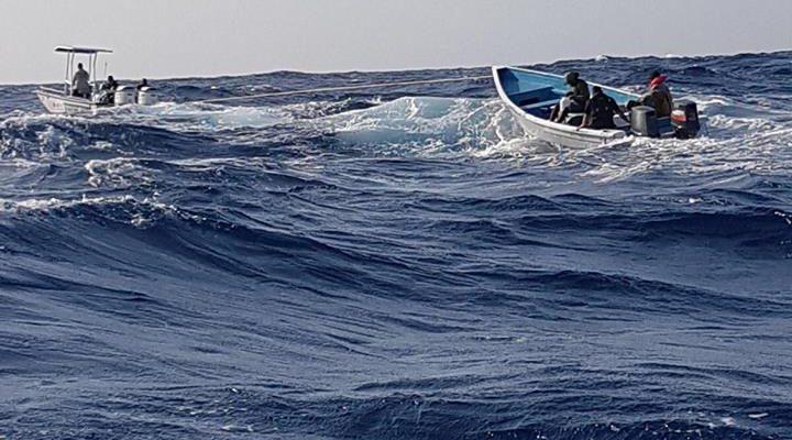 Vermiste vissers gevonden