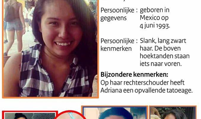 Zoekactie voor Adriana; 1 aanhouding