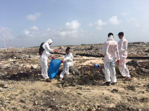 Na clean-up van vanmorgen vraagt STINAPA hulp aan de overheid