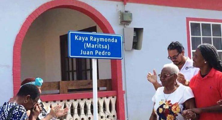 Kaya Résida omgedoopt tot Kaya Raymonda (Maritsa) Juan Pedro