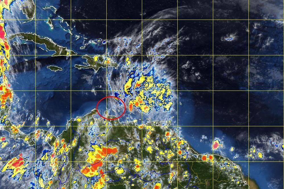 Storm Bred verliest aan intensiteit en wijkt een beetje af naar het noorden