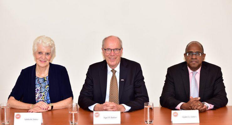 """Cft-voorzitter Bakker over Bonaire: """"Meer prioriteit geven aan verbetering financieel beheer."""""""