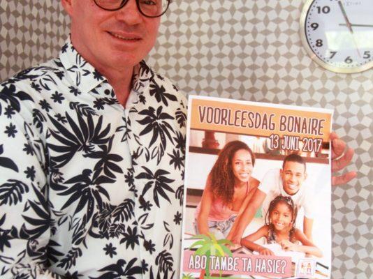 Stichting Lezen & Schrijven Bonaire organiseert eerste Nationale voorleesdag