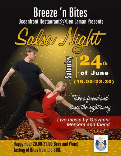 Salsa Night @ Breeze 'n Bites