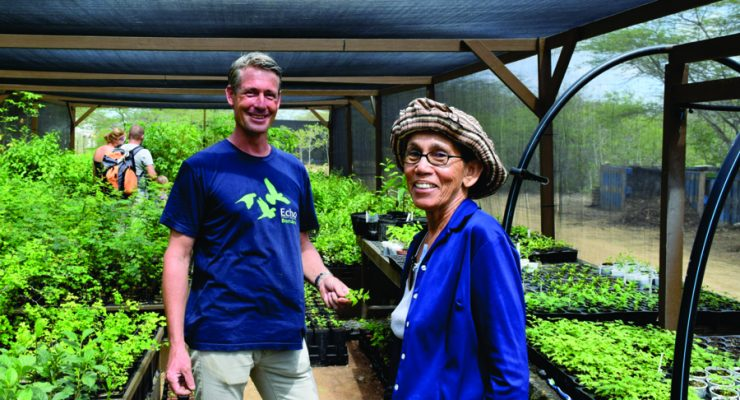 Stichting Echo geeft inkijkje in herbebossingsproject
