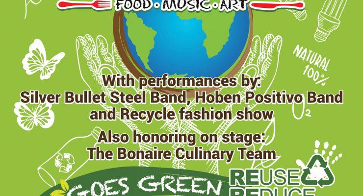 Vijfde Taste of Bonaire TCB: Editie recycling
