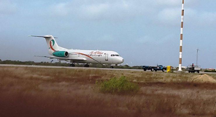 Chartervlucht Cuba-show 24 uur vertraagd