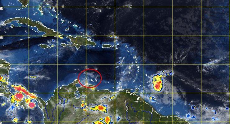 Tropische storm Don onderweg