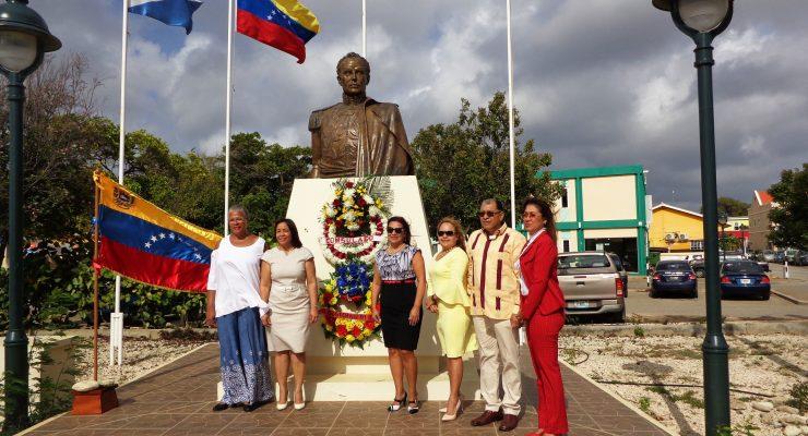 206e verjaardag van Venezuela gevierd op Bonaire