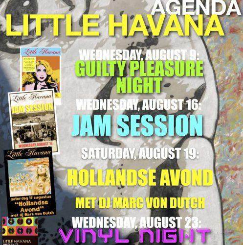 Agenda augustus Little Havana