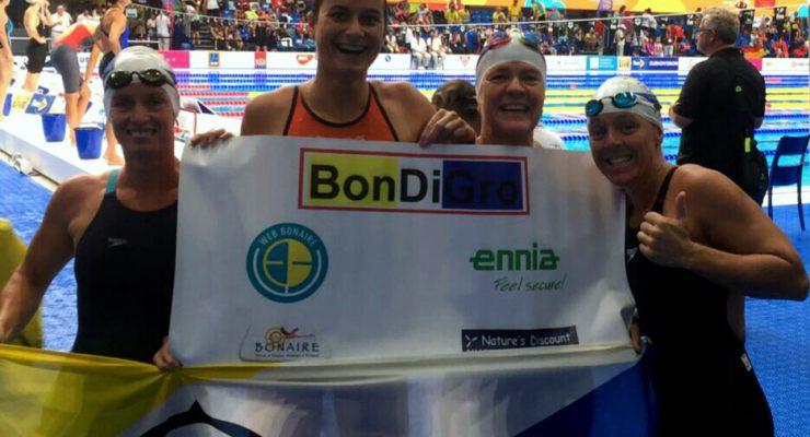 Verslag 5e dag FINA Wereldkampioenschappen masters zwemmen