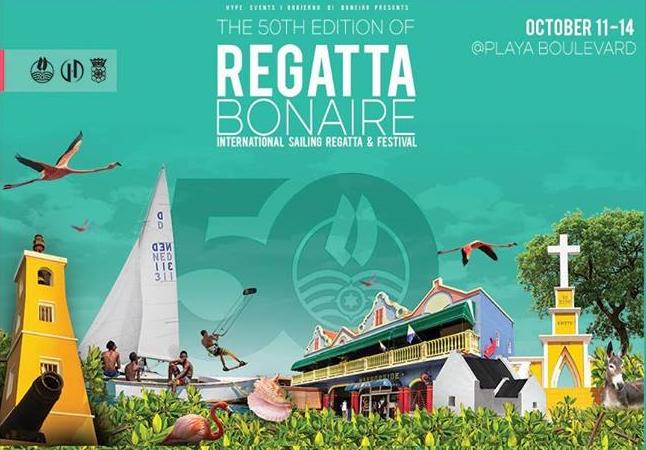 Bonaire  Regatta zal als vanouds in Playa zijn dit jaar