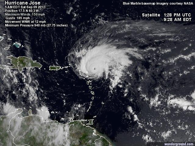 Orkaan José update