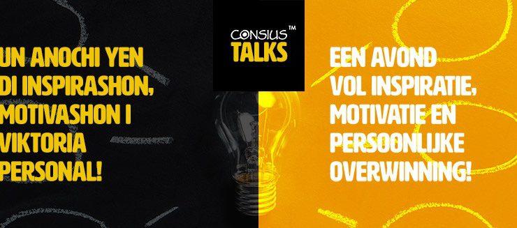 """CONSIUS talks: """"Verbeter Bonaire, begin bij jezelf"""""""