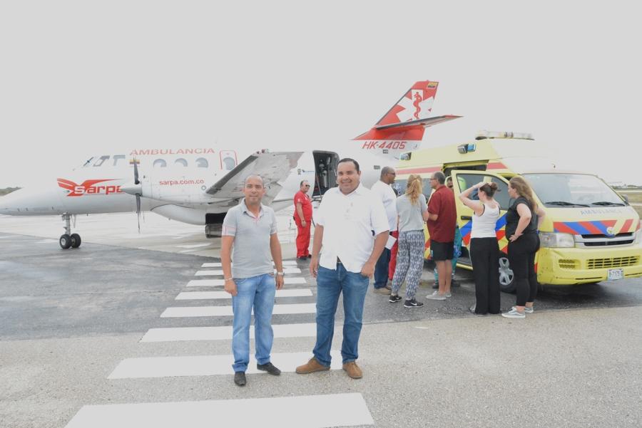 Het Calamiteitenteam en het OLB organiseren hulpverlening aan de Bovenwinden