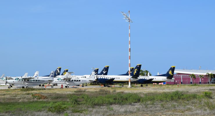 Flamingo Airport vluchthaven regionale carriers