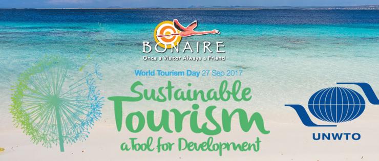 Viering wereld toerisme dag 'Duurzaam Toerisme'