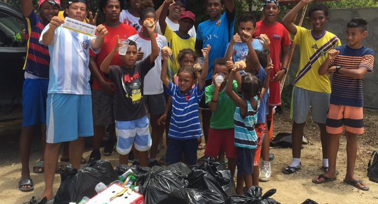 Resultaat Bonaire Clean Up Day: 3550 kg afval!