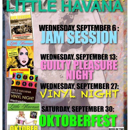Agenda September @ Little Havana | Kralendijk | Bonaire | Caribisch Nederland
