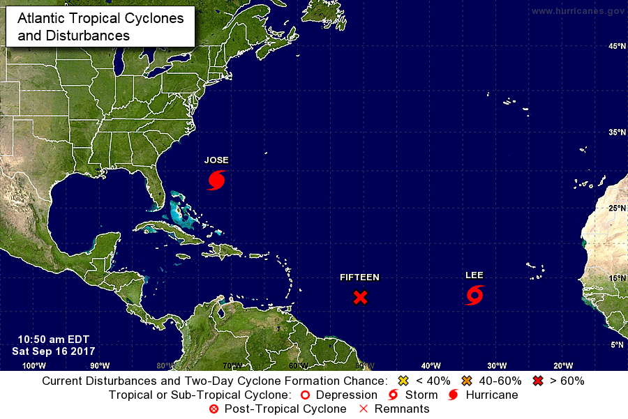 Weer twee stormen onderweg naar het Caribisch gebied