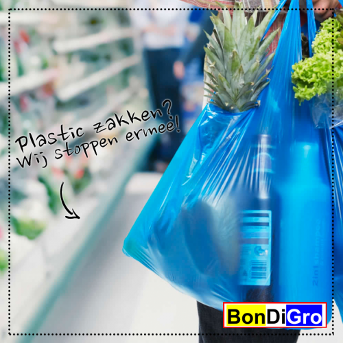 Bondigro Stop met plastic zakjes
