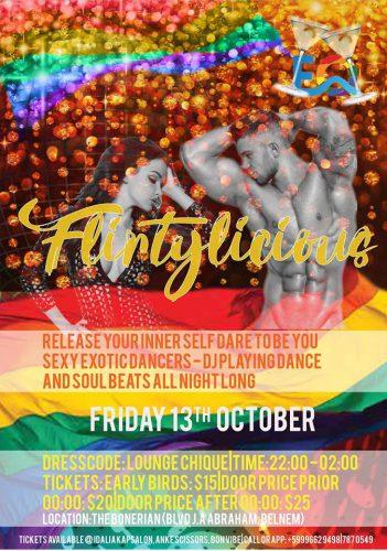 Flirtylicious Party @ The Bonairian | Kralendijk | Caribisch Nederland
