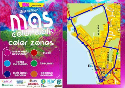 Mas Color Walk Event @ Sunset Beach | Kralendijk | Bonaire | Caribisch Nederland