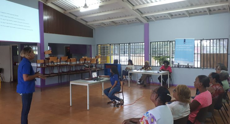 SWZ informeert ouderen in Nikiboko