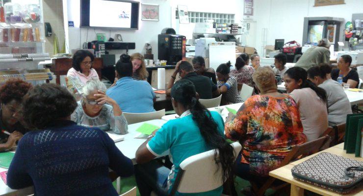 """Workshop """"Kinderboeken schrijven in Papiamentu"""" succesvol"""