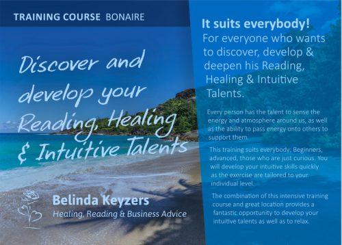 Training 'ONTDEK EN VERDIEP JE READING HEALING EN INTUÏTIEVE TALENTEN @ Earthship, Bonaire | Nieuwpoort | Curaçao | Curaçao