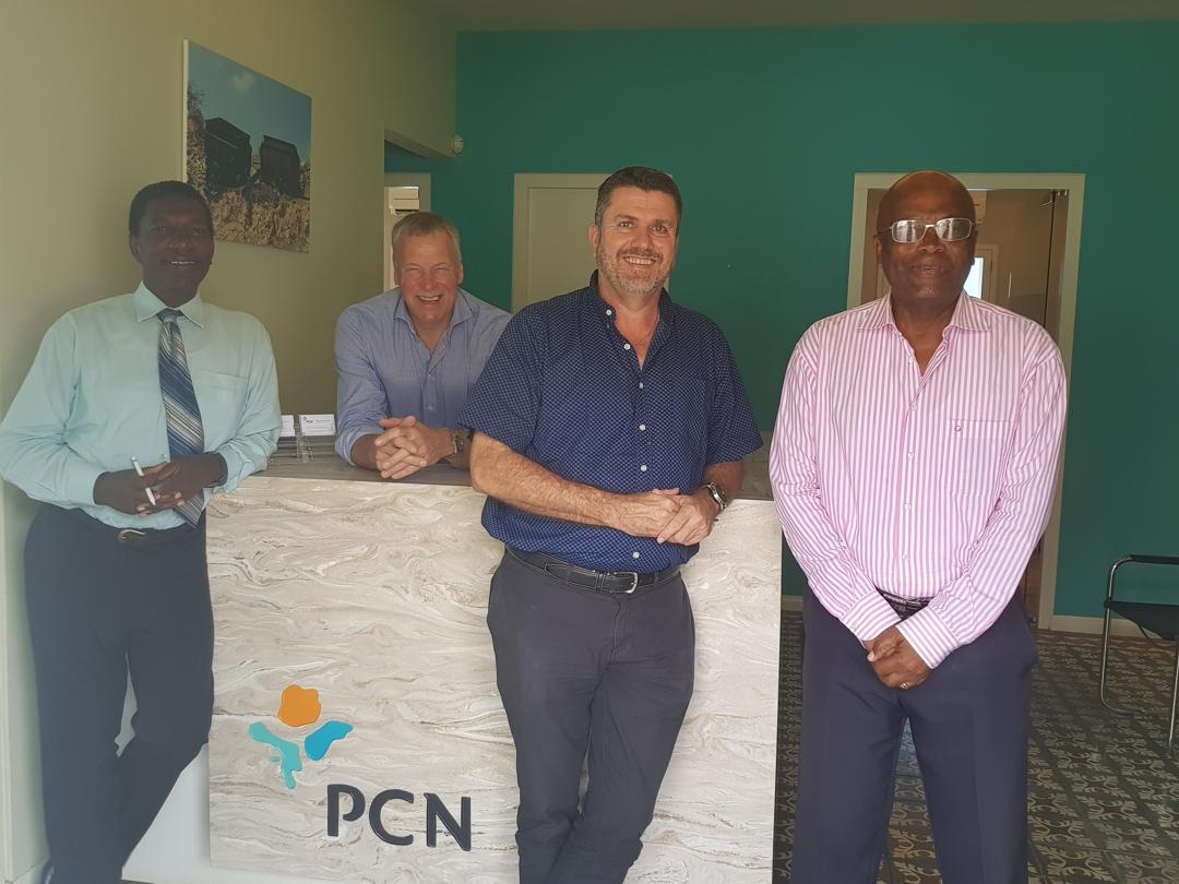Foto bestuur PCN november 2017