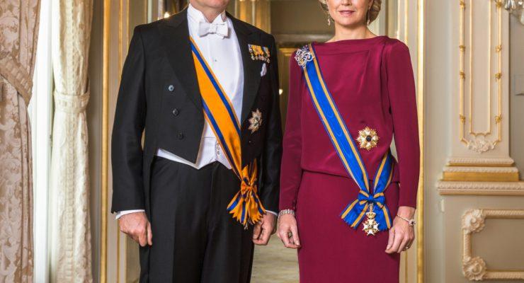 Koning en Koningin en staatssecretaris Knops bezoeken Saba, Sint Maarten en Sint Eustatius