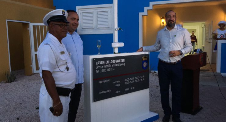 Nieuw havenkantoor officieel geopend