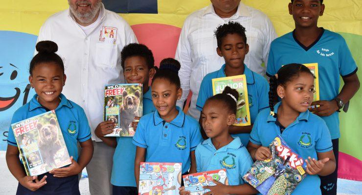 Kolegio San Luis Beltran krijgt de eerste schooltijdschriften