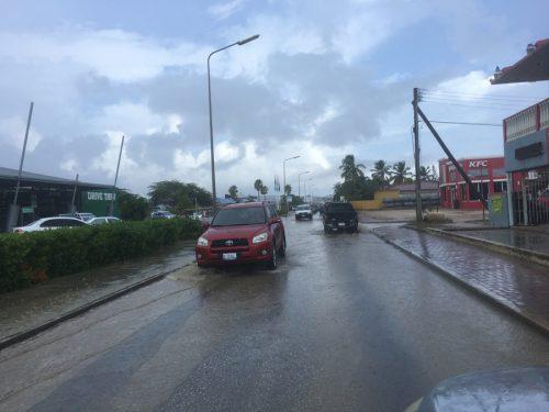 Flinke regenbuien op Bonaire en het vooruitzicht voor de komende dagen