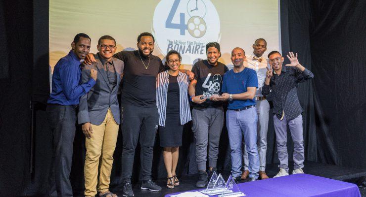 """Bonaire winnaar """"48 hour Film Project"""""""