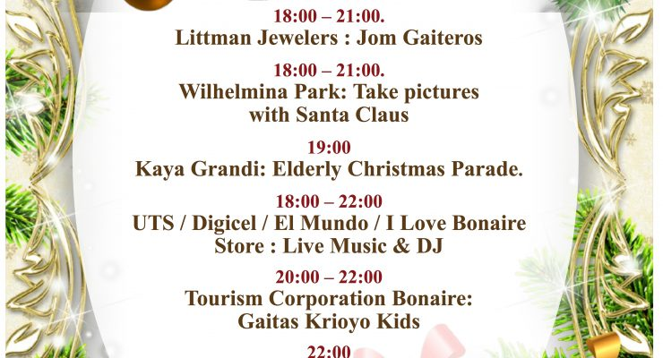 Kerstkoopavond op 16 december