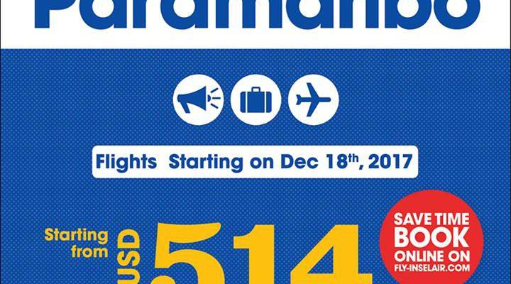 InselAir vluchten naar Suriname nu wel definitief