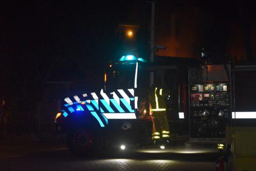 brand bij Buddy Dive II