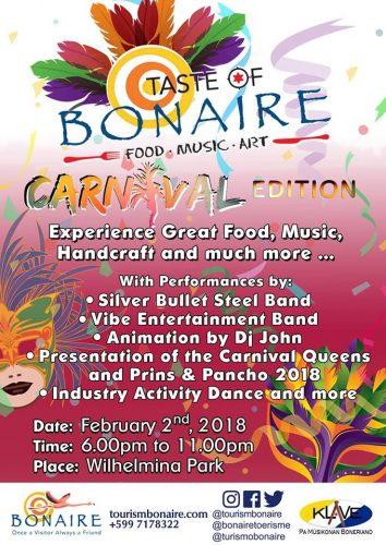 Taste of Bonaire @ Wilhelminapark