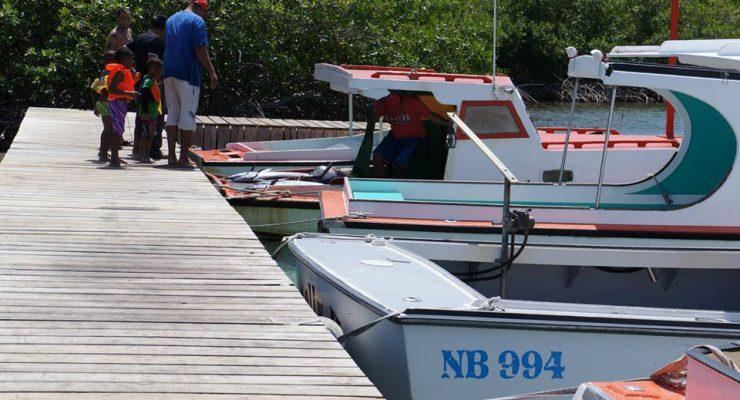 Waarschuwing voor kleine boten