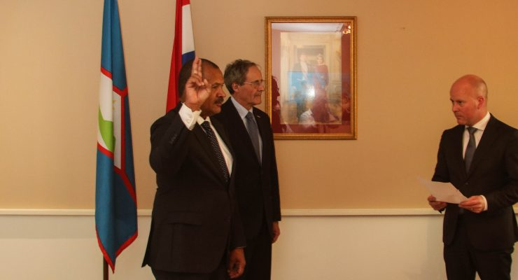 Regeringscommissaris Sint Eustatius beëdigd