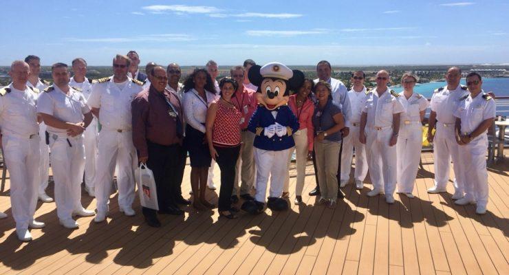 """Disney Wonder"" verwelkomd op Bonaire"