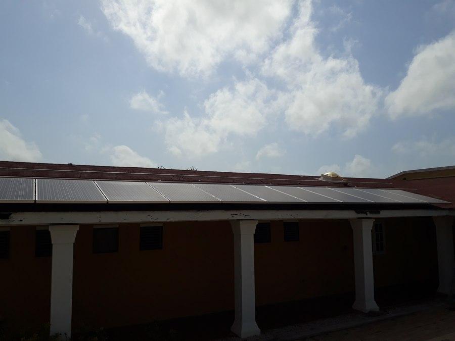 Zonnepanelen gestolen van dak Stichting Project