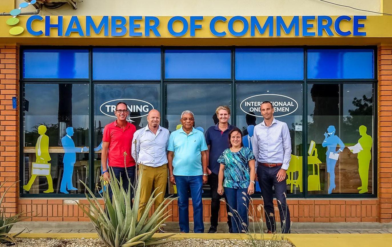 Nieuw bestuur KvK Bonaire 22 jan 2018