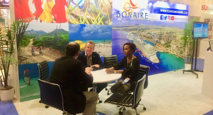 Bonaire vertegenwoordigd op de 'Seatrade Convention'