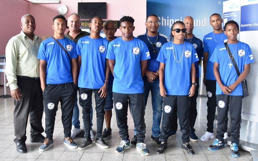 Real Rincon bij de CONCACAF spelen in Sto. Domingo