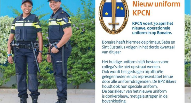 Nieuw uniform KPCN
