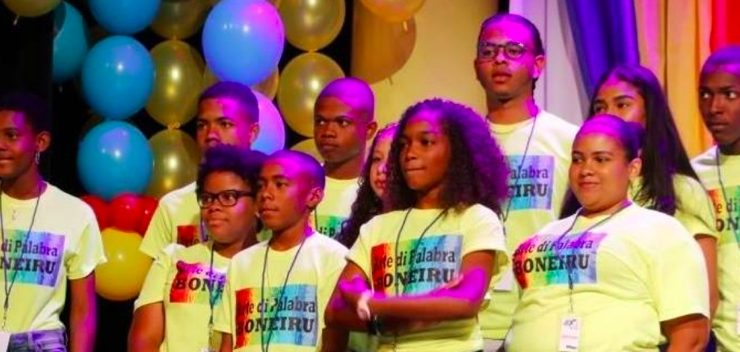 Bonairiaanse jongeren schitteren wederom in 'Arte di Palabra ABC'